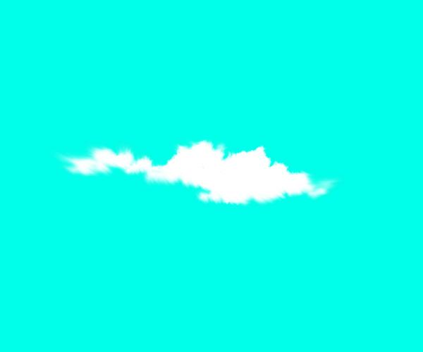 雲 形 描き方