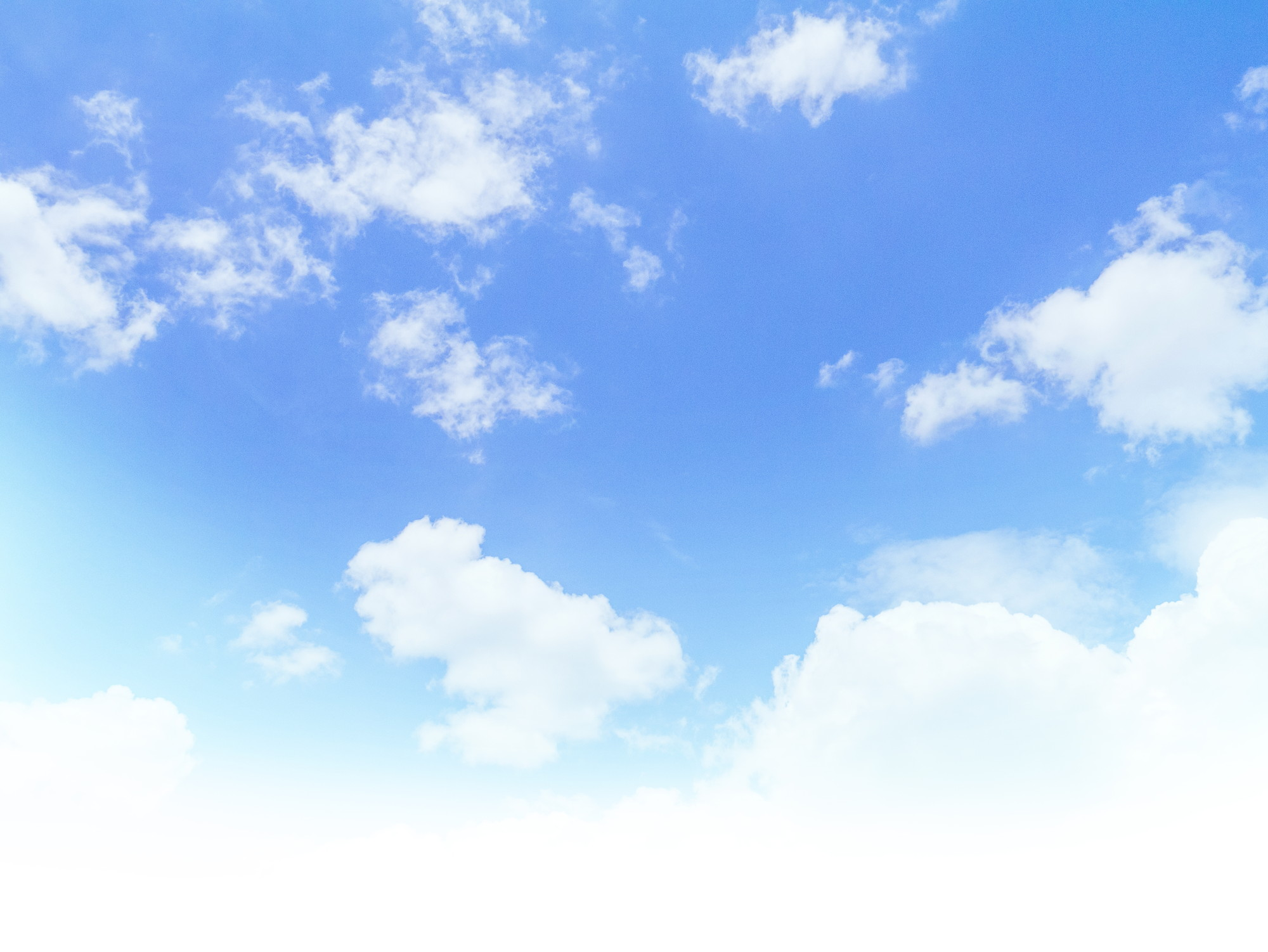 空 雲 青空