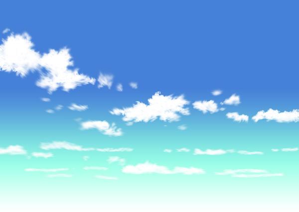 雲 アニメ イラスト