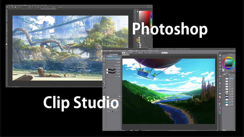 Photoshop Clipstudio