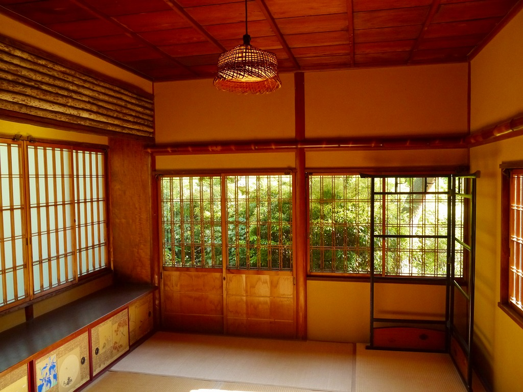 日本家屋 和室 由緒